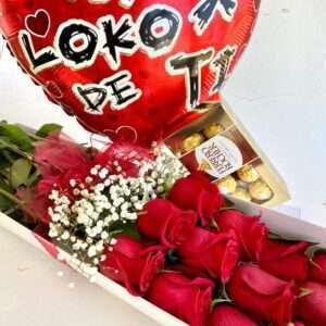 12 Rosas, Ferrero Rc y Globito